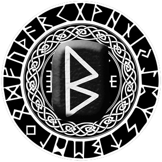 Runa Berkana símbolo