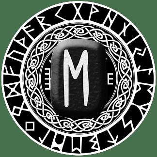 Runa Ehwaz símbolo