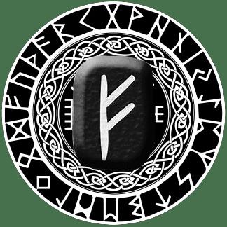 Runa Fehu símbolo