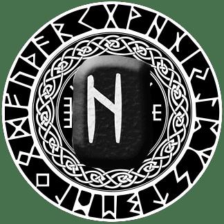 Runa Hagalaz símbolo