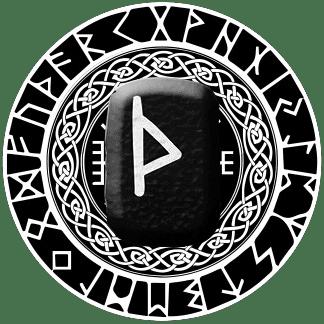 Runa Thurisaz símbolo