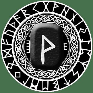 Runa Wunjo símbolo