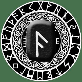 Runa Ansuz símbolo
