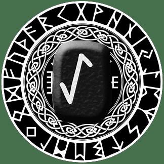 Runa Eihwaz símbolo