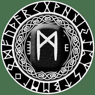 Runa Mannaz símbolo