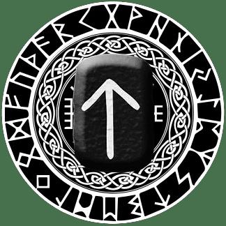 Runa Teiwaz símbolo