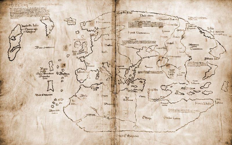 mapa vikingos