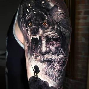 caras de vikingos tattoo