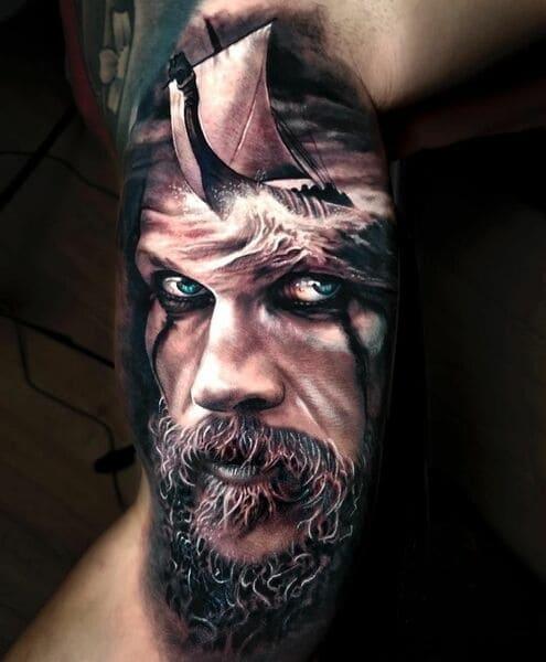 floki tatuajes vikings