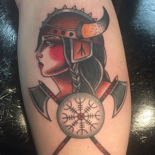 tatuajes celtas significado mujer vikinga