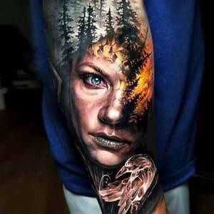 tatuaje ladgerda vikings