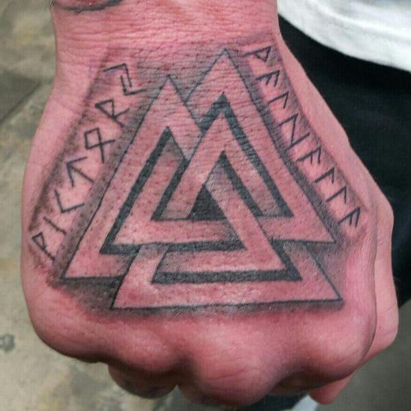 tatuajes originales valknut