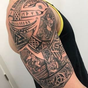 significado tatuajes vikingos