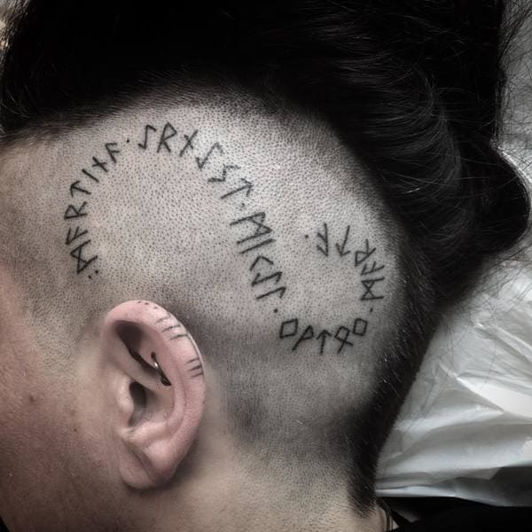 tatuajes sexys de runas