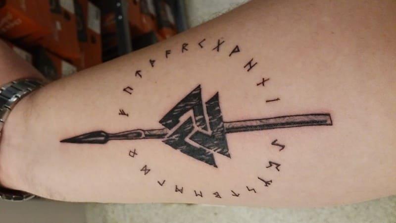 tatuajes símbolos significado lanza