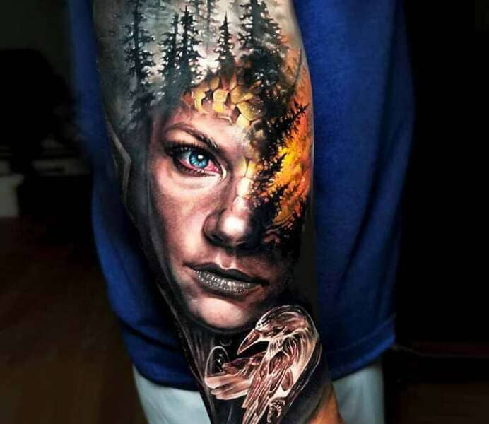 tatuajes vikings lagertha