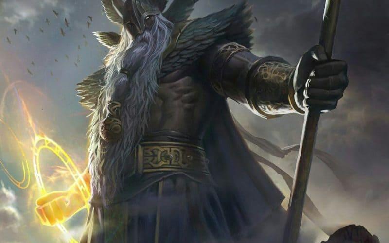dios Odín considerado Alfader