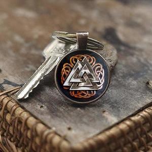 llaveros simbolos y runas vikingas