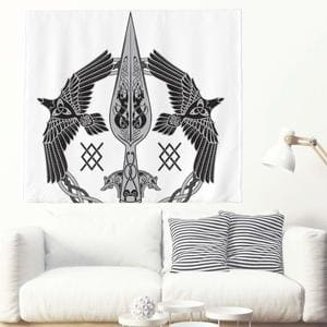 tapices runas y simbolos vikingos