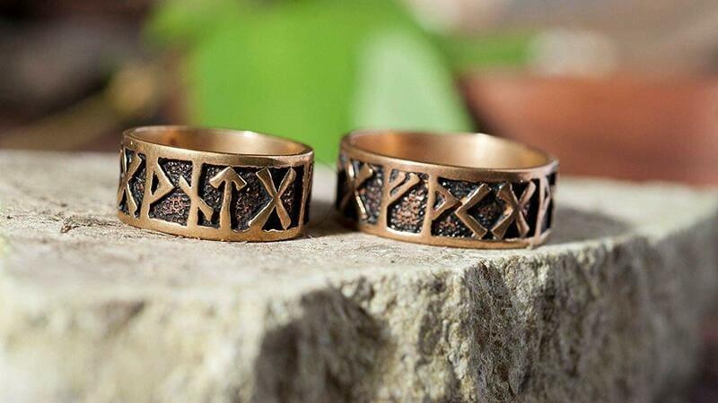comprar anillos runas vikingas