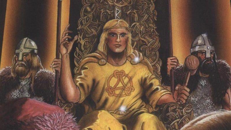 dios vikingo Forseti runa raido