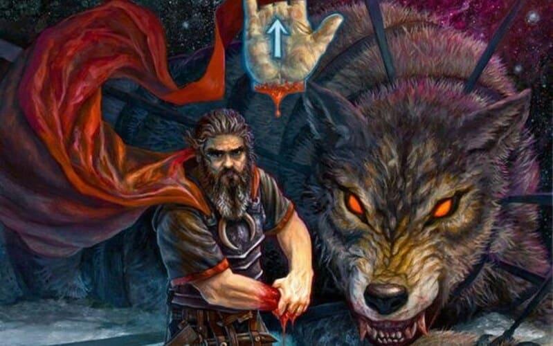 dios de la guerra Tyr god of war