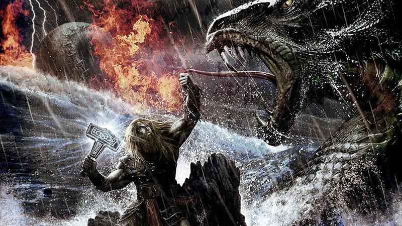 thor dios del trueno nordico
