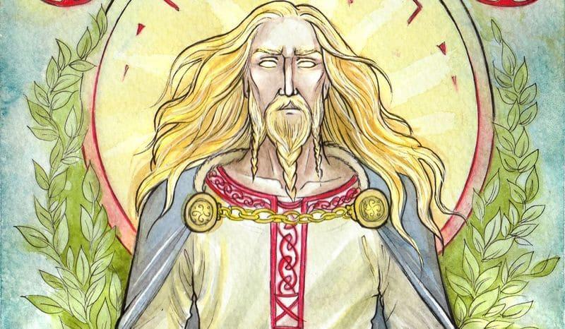 dios balder baldur baldr god